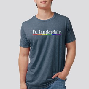 Ft Lauderdale Mens Tri-blend T-Shirt