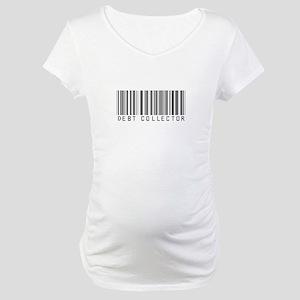 Debt Collector Barcode Maternity T-Shirt