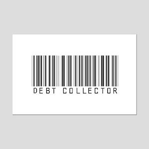 Debt Collector Barcode Mini Poster Print