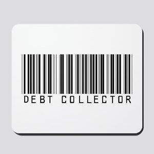 Debt Collector Barcode Mousepad