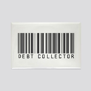 Debt Collector Barcode Rectangle Magnet