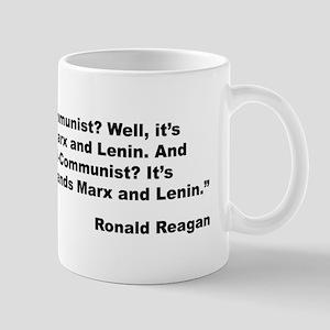 Reagan Communist Quote Mug