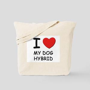 I love MY DOG HYBRID Tote Bag