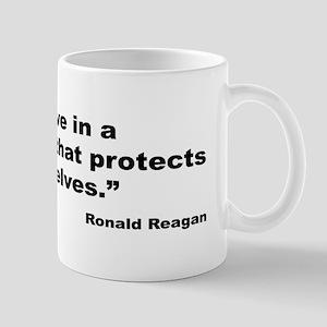 Reagan Government Quote Mug