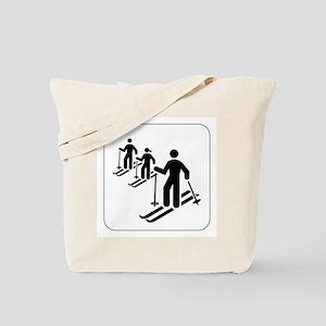 Ski Icon Tote Bag