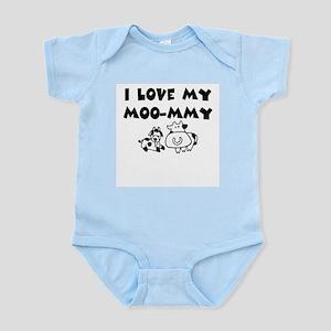 Love my moo-mmy Infant Bodysuit