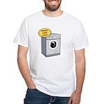 Handles Large Loads White T-Shirt