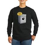 Handles Large Loads Long Sleeve Dark T-Shirt