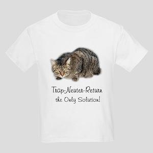 Trap-Neuter-Return Kids T-Shirt
