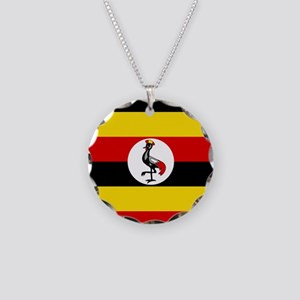 Uganda Flag Necklace
