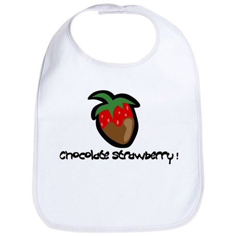 Chocolate Strawberry Bib