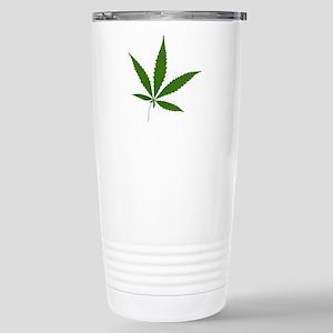 Cannabis Stainless Steel Travel Mug