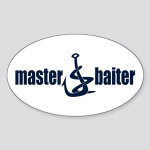 Master Baiter Oval Sticker