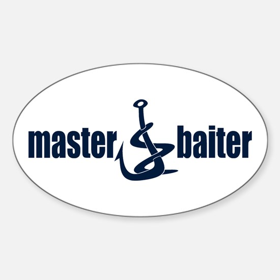 Master Baiter Oval Decal