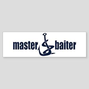 Master Baiter Bumper Sticker