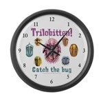 Trilobite Large Wall Clock