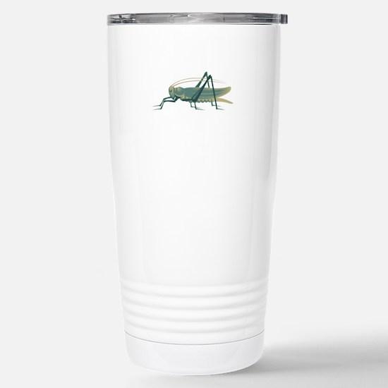 Grasshopper Stainless Steel Travel Mug