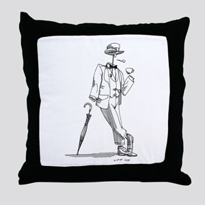 'Invisible Man' Throw Pillow