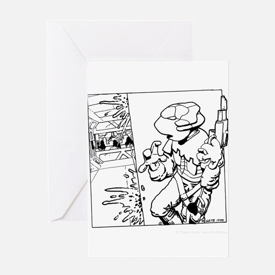 'Boarding Party' Greeting Card