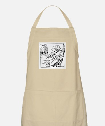 'Boarding Party' BBQ Apron