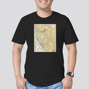 Vintage Map of Buffalo New York (1891) T-Shirt