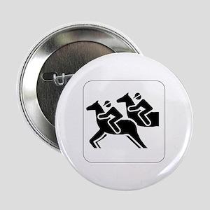Horse Racing Icon Button