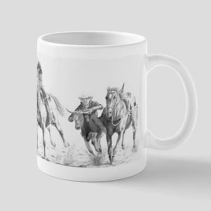 Steer Wrestler Mug