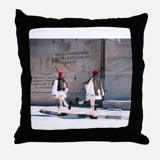Unique Greek Throw Pillow