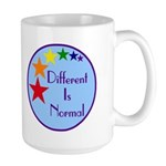 """Different Is Normal"" 15 Ounce Mug 9"