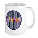 """Different Is Normal"" 15 Ounce Mug 8"