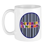 """Different Is Normal"" 11 Ounce Mug 8"