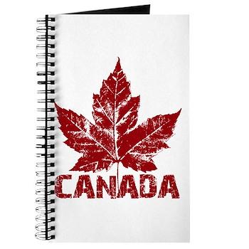Cool Canada Journal Notebook Sketchbook