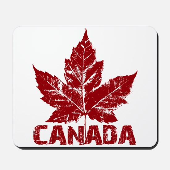Cool Canada Mousepad Maple Leaf Gifts
