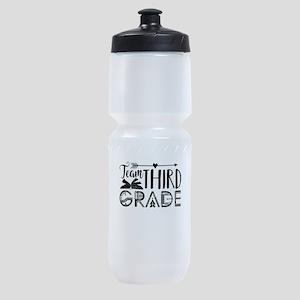 3rd Grade Teacher Sports Bottle