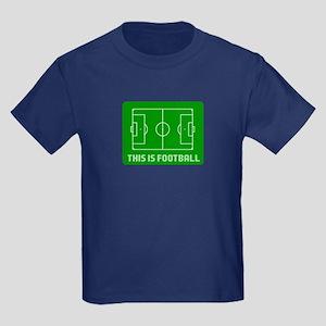 This Is Football Kids Dark T-Shirt