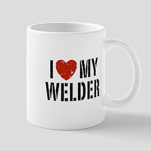 I Love My Welder Mug
