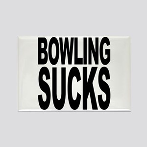 Bowling Sucks Rectangle Magnet