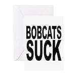 Bobcats Suck Greeting Cards (Pk of 10)