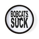 Bobcats Suck Wall Clock