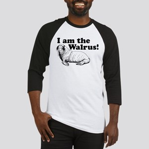 funny animals I am the Walrus Baseball Jersey