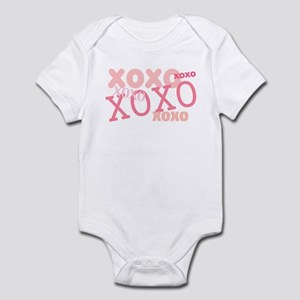Pink XOXO Love Infant Bodysuit