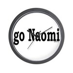 go Naomi Wall Clock