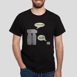 Stonehenge vs. Pet Rock Dark T-Shirt