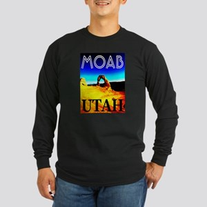 Moab, Utah Long Sleeve Dark T-Shirt