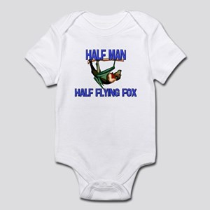 Half Man Half Flying Fox Infant Bodysuit
