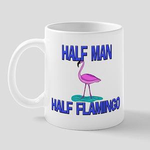 Half Man Half Flamingo Mug