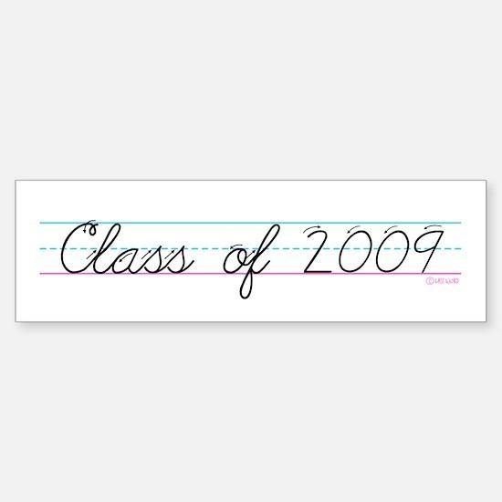 Class of 2009 Bumper Bumper Bumper Sticker