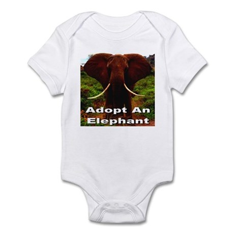 Adopt An Elephant Infant Bodysuit