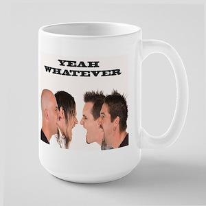Yeah Whatever Scream Large Mug