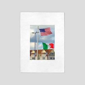 Italian American Homage 5'x7'Area Rug